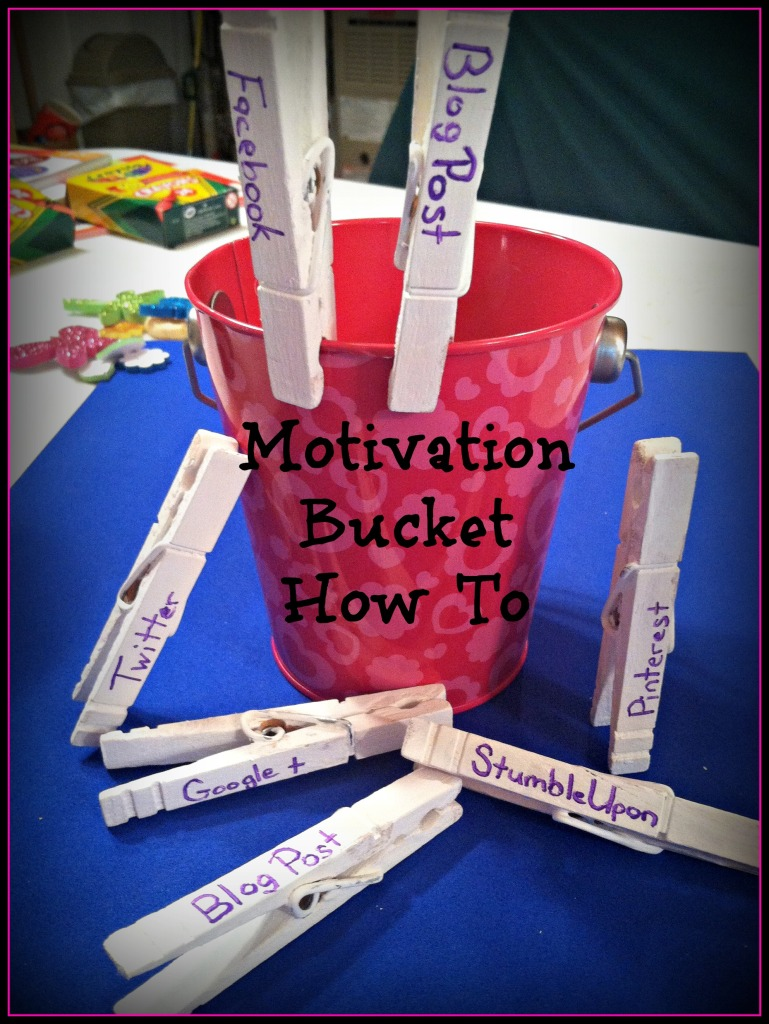 motivation bucket