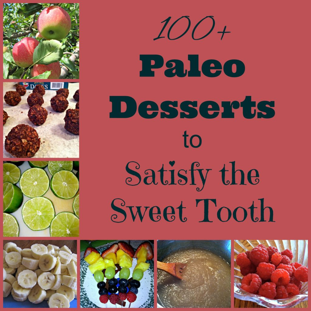 Paleo Desserts to Satisfy the Sweet Tooth
