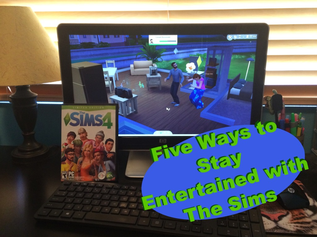Five Ways to Stay Entertained with The Sims™ 4 #shop