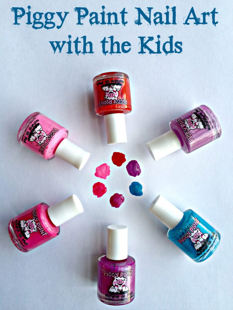 Piggy Paint Nail Art with the Kids