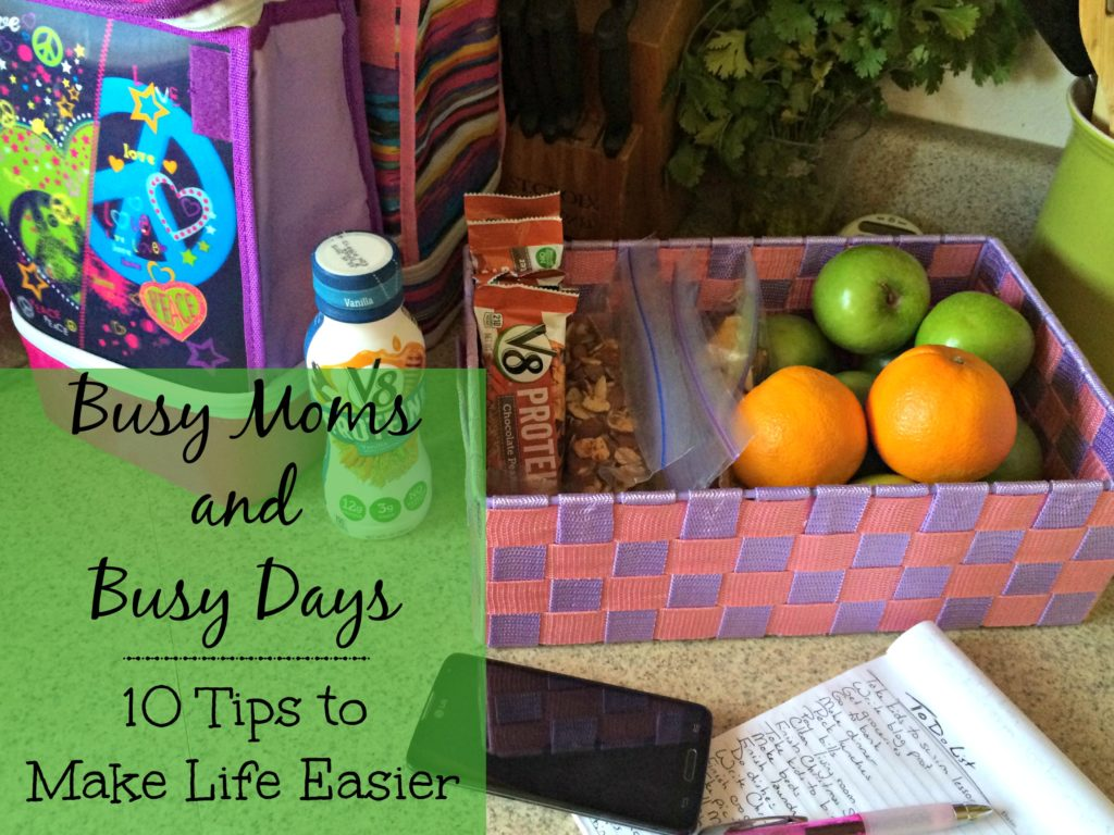 Busy Moms and Busy Days
