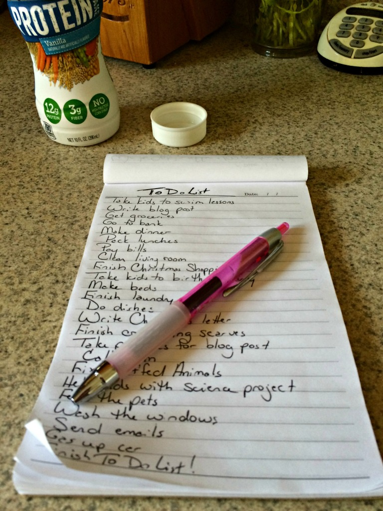Creating a To Do List