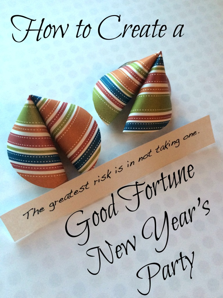 How to Create a Good Fortune New Years Party fortune cookies
