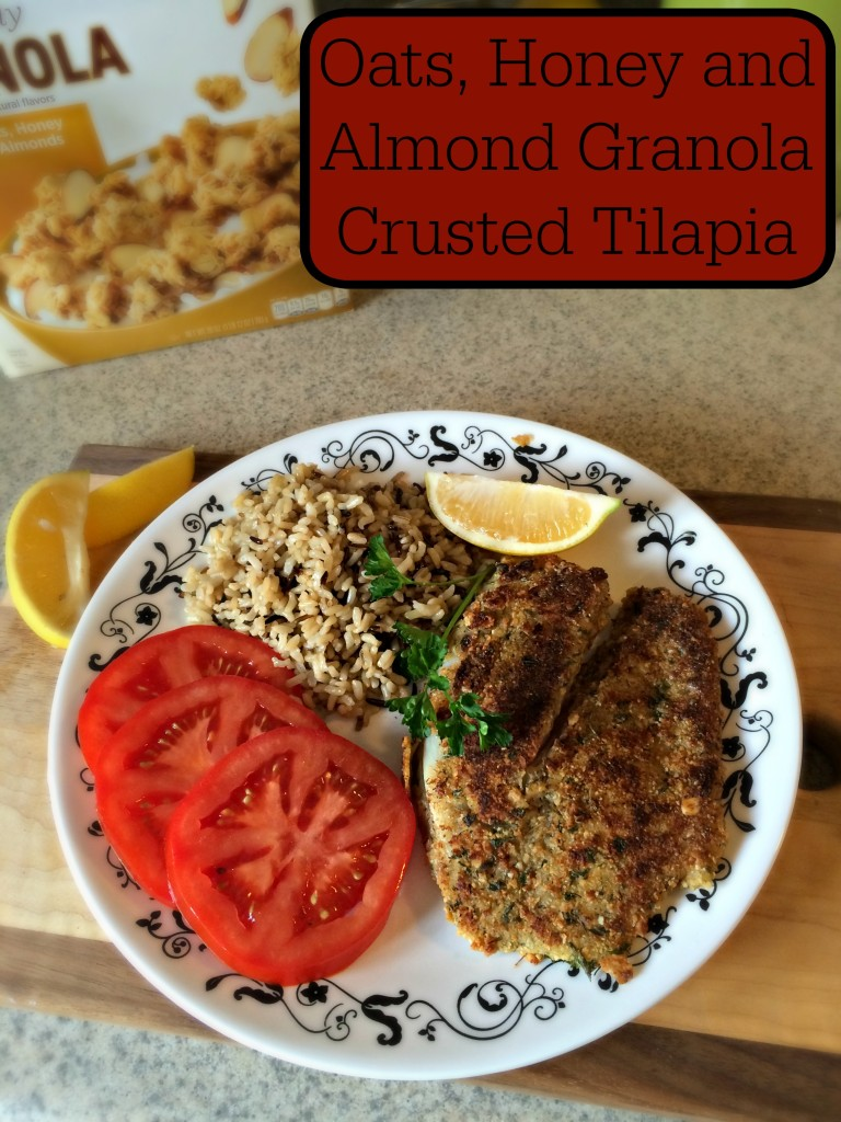 Simply Granola Crusted Tilapia