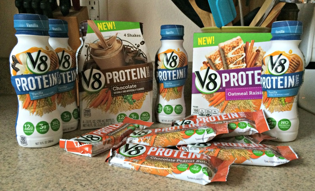 V8 Protein Shakes and Bars