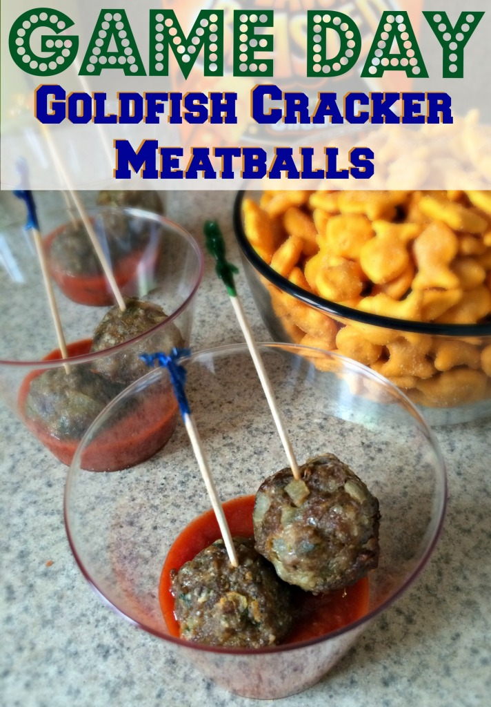Game Day Goldfish Cracker Meatballs 3