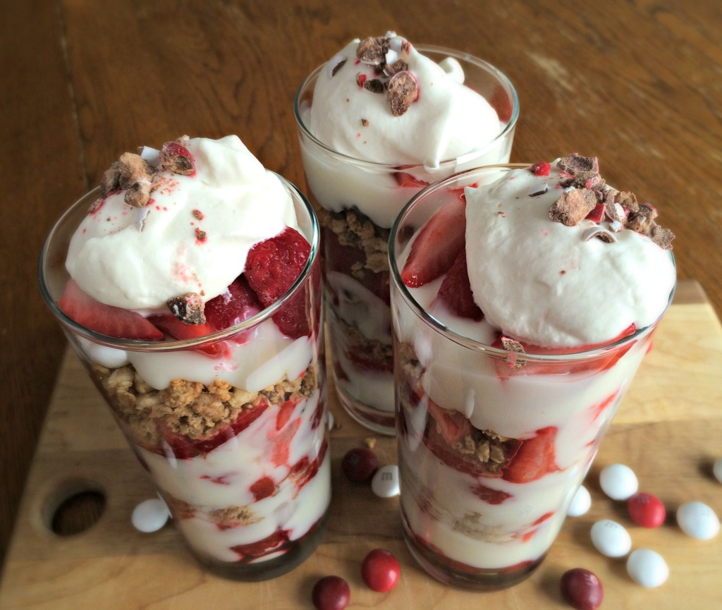 Valentines Day Parfaits