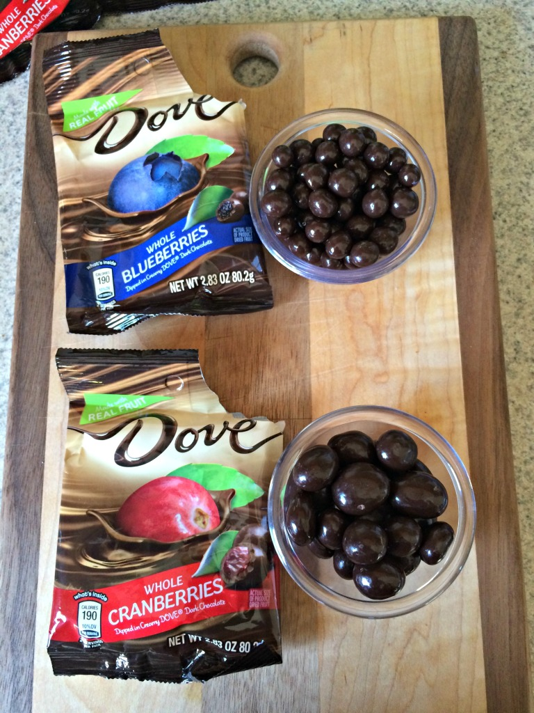 Brownie Bites with Dove Fruit #ad #LoveDoveFruits