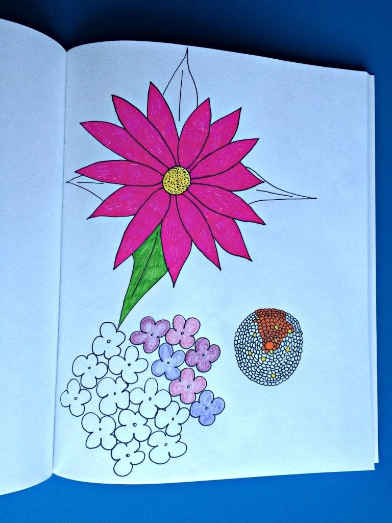 Art Journaling Flowers