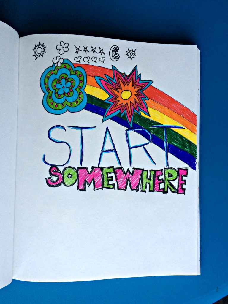 Art Journaling Start Somewhere