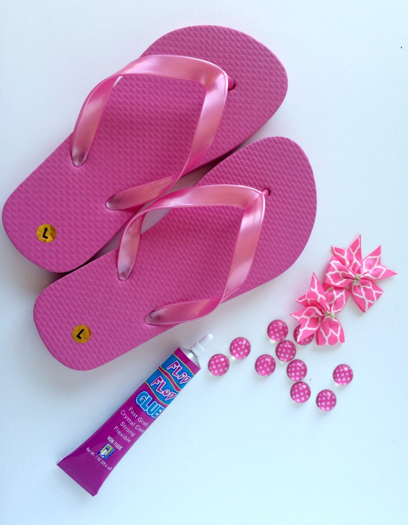 Flip Flop decorating supplies