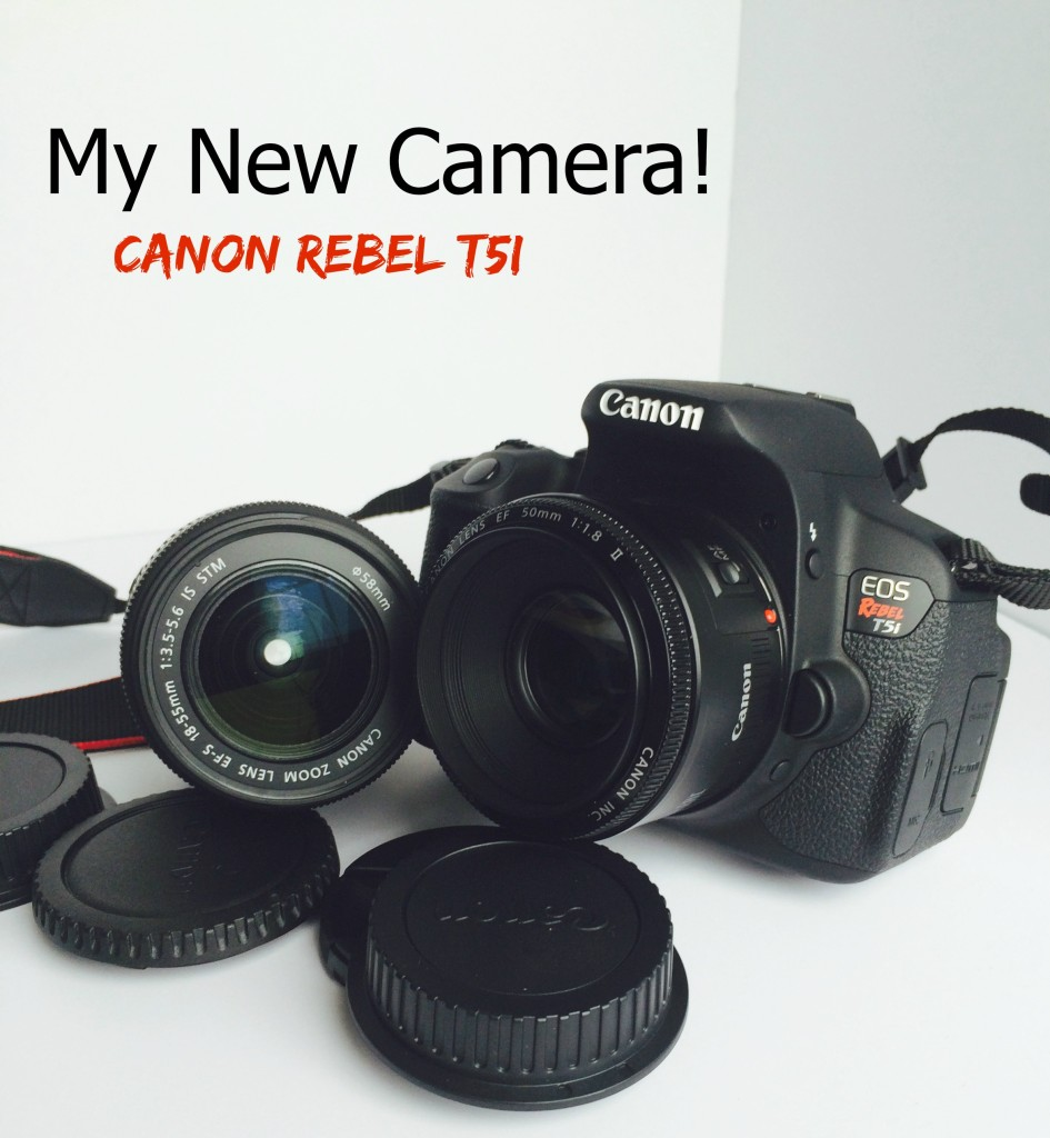 Canon Rebel T5i My New Camera