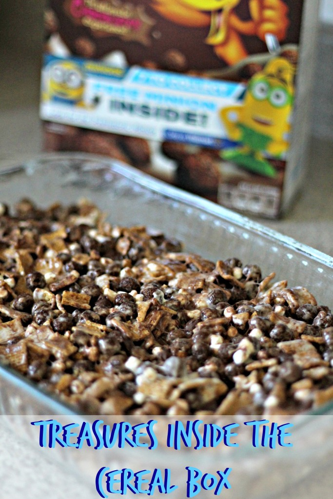 Treasures Inside the General Mills Cereal Box #ad #The7thMinion