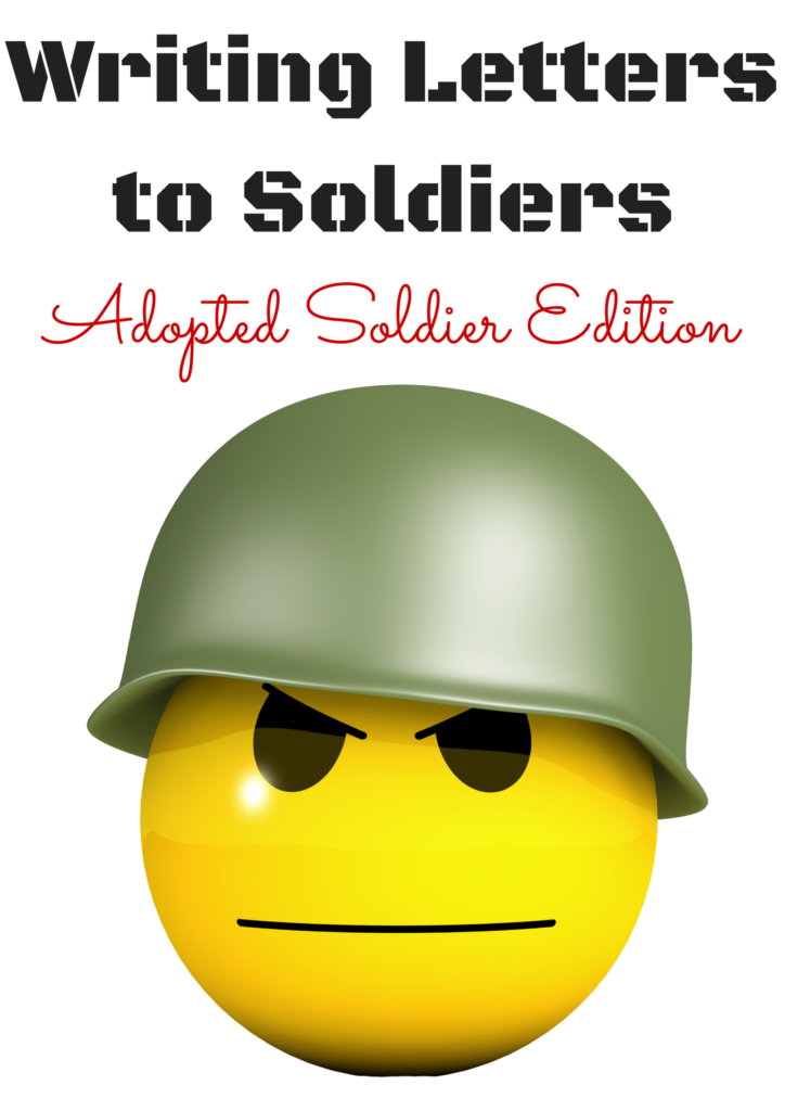 Writing Letters to Soldiers1