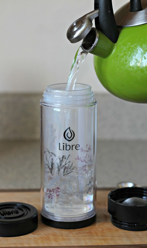 Libre Tea black add water