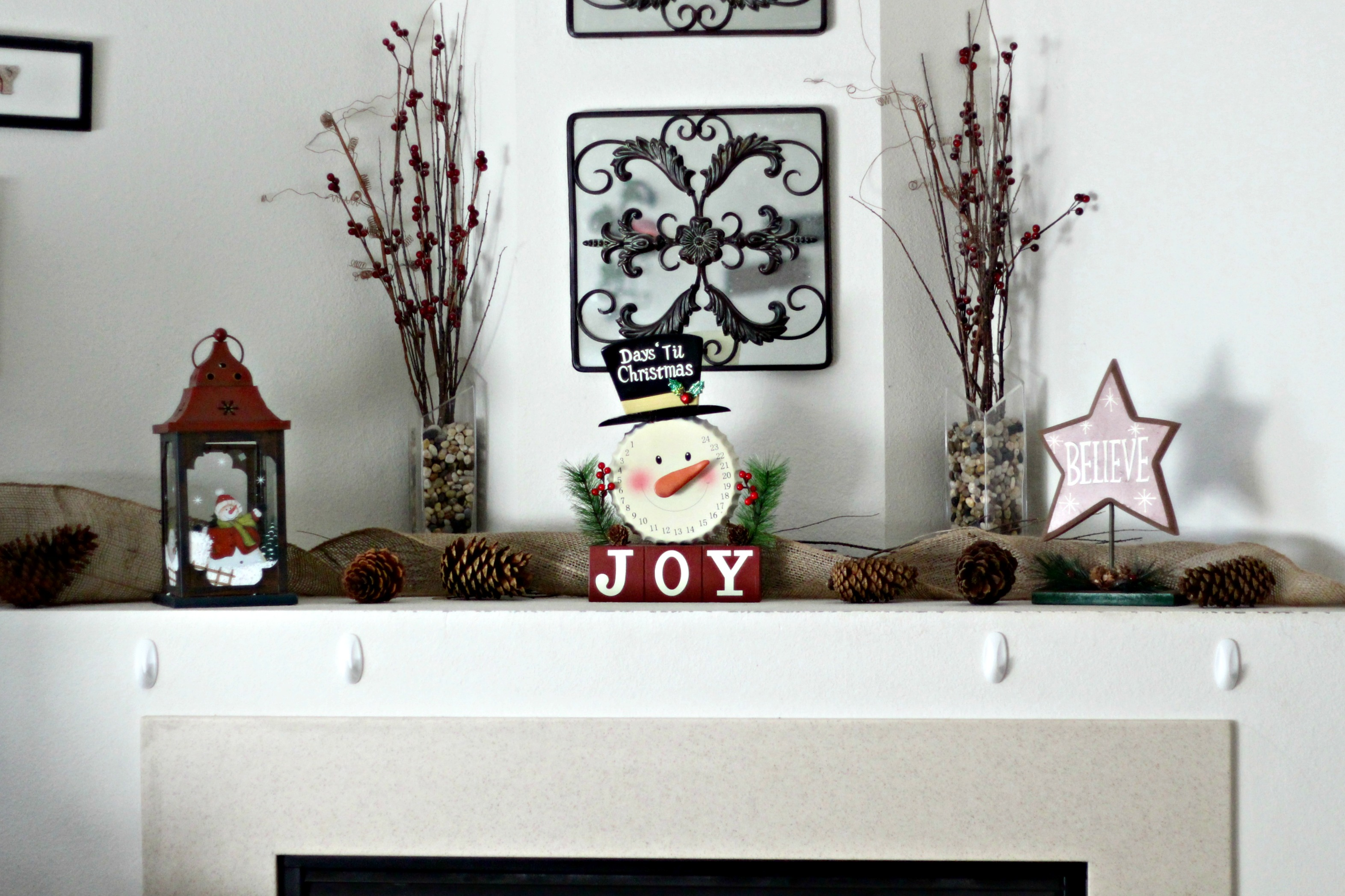 Find the Perfect Holiday decor at a great price at At Home. Check out some of the fantastic themed finds I found, plus how I incorporated some of them into my own holiday decor. #ad