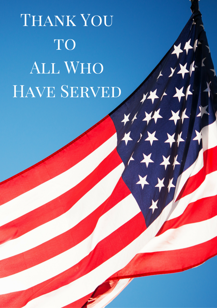 Thank Youto All Who Have Served