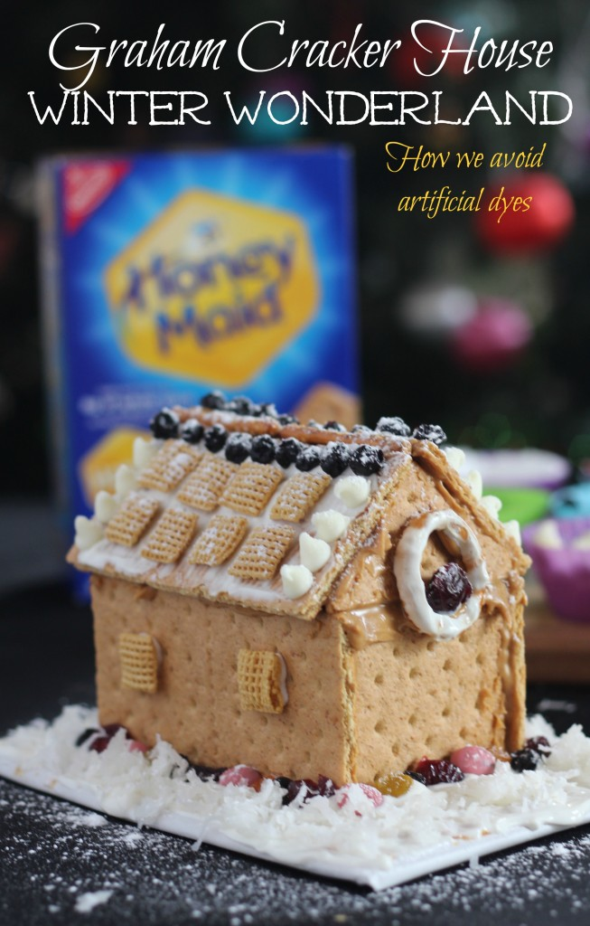 This fun holiday graham cracker house will be fun for the whole family to create, and extremely tasty! #HoneyMaidHouse ad