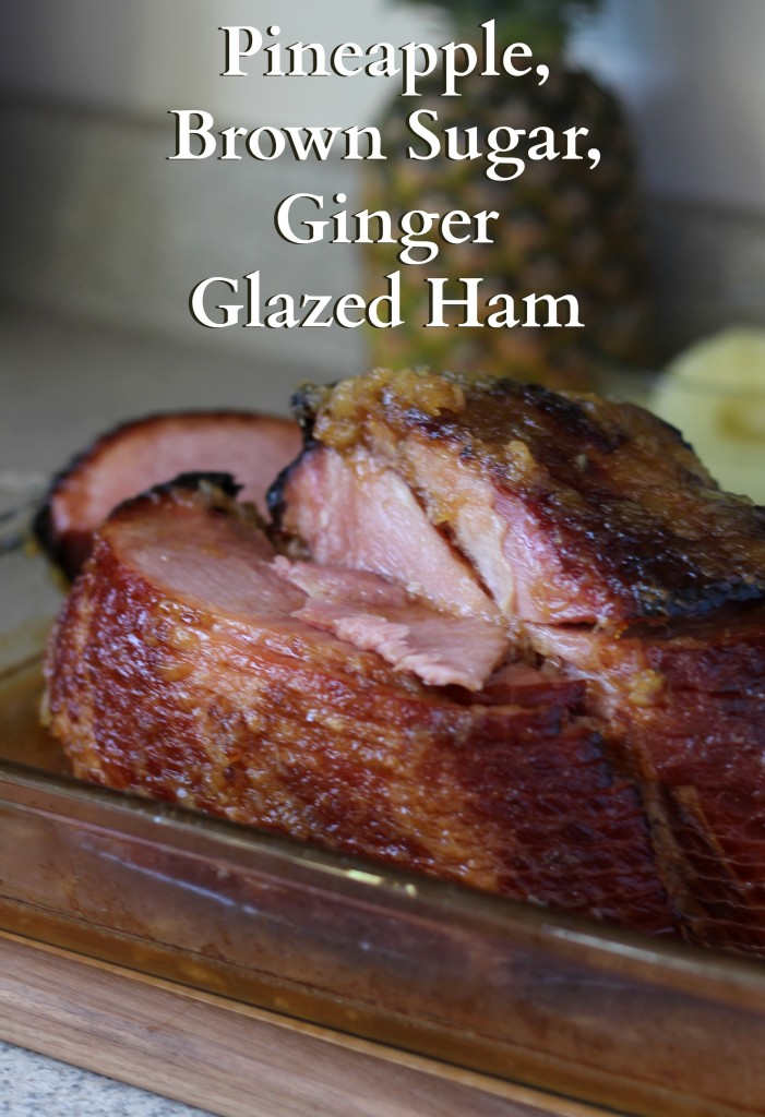The perfect glazed ham for any gathering. It's easy to make, easy to transport, easy to serve. Plus, it's delicious! #ForTheLoveOfHam ad