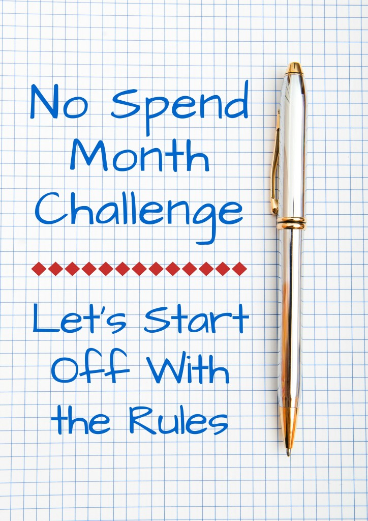 Best of the Creative Ways to Save Money - No Spend Month